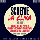 SCHEME – La Clika Video Shoot on November 18th